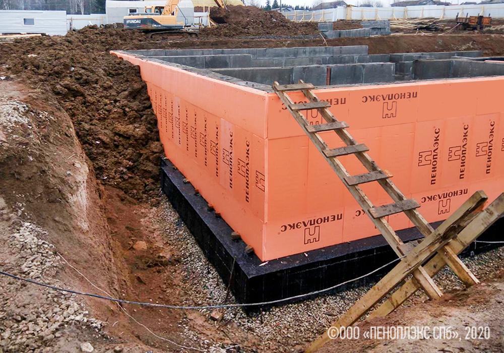 ПЕНОПЛЭКС® в фундаменте нового детского сада в Юрле
