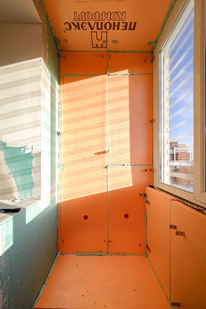 утепления балкона/лоджии